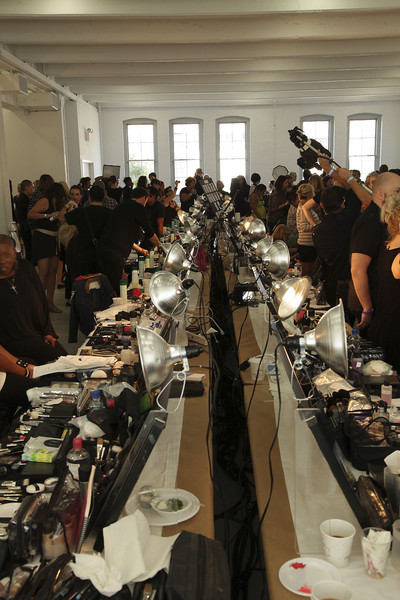 Jason Wu at New York Spring 2012 (Backstage)