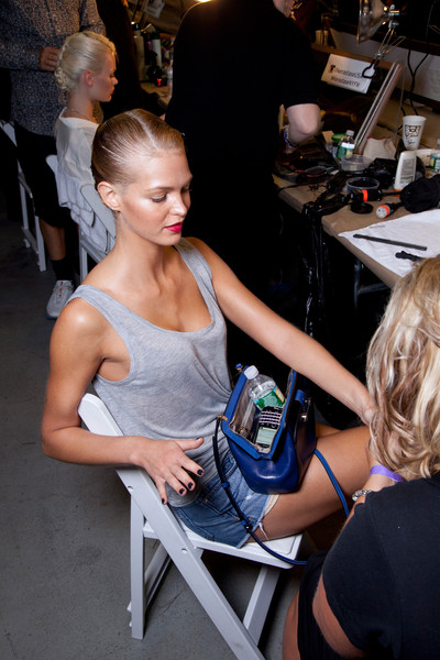 Jason Wu at New York Spring 2013 (Backstage)