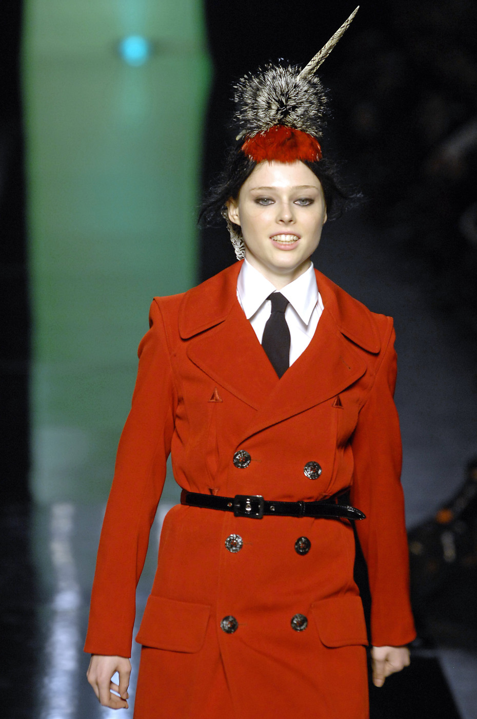 jean paul gaultier at paris fashion week fall 2007 livingly. Black Bedroom Furniture Sets. Home Design Ideas