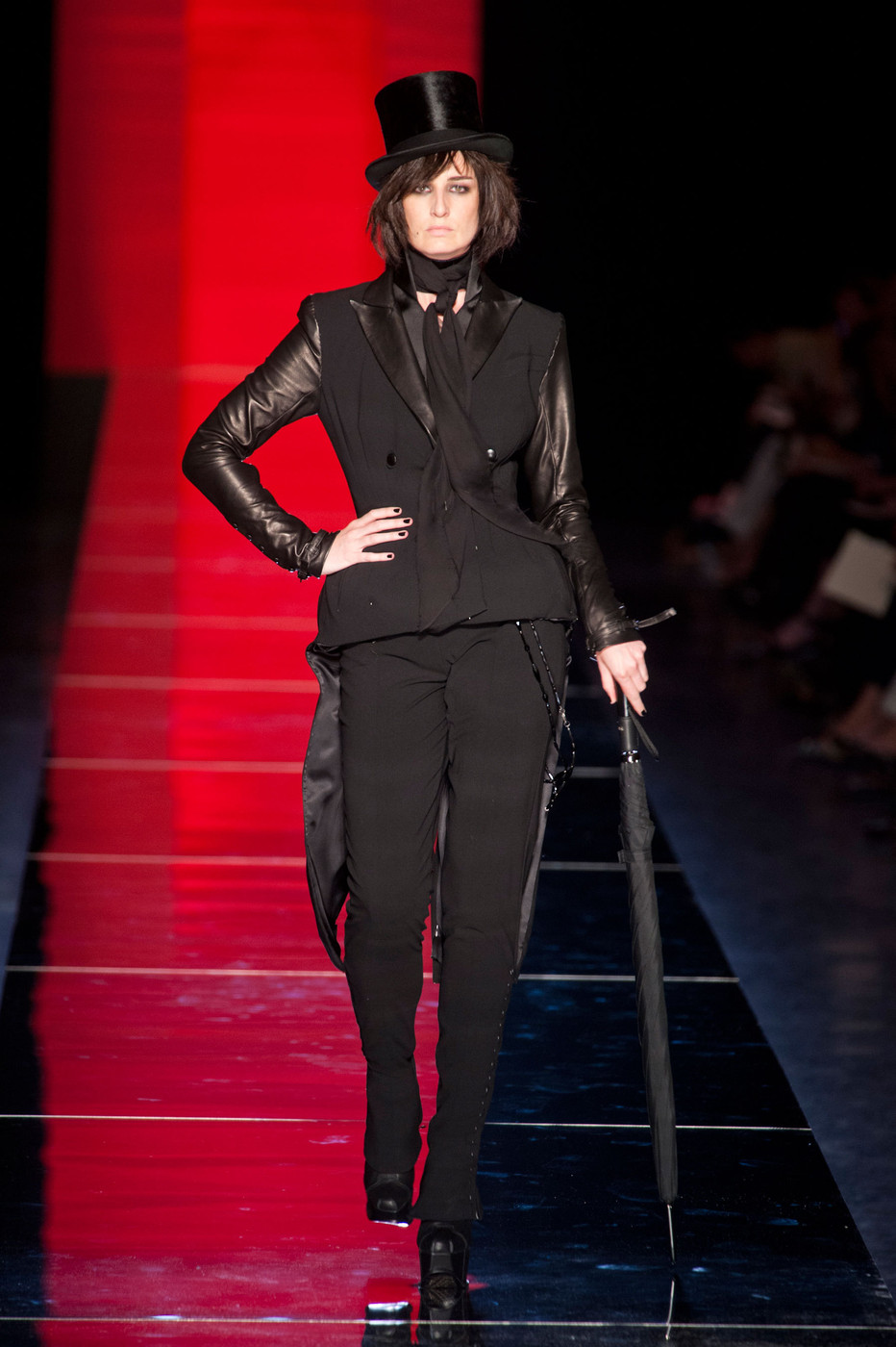 jean paul gaultier at couture fall 2012 livingly. Black Bedroom Furniture Sets. Home Design Ideas