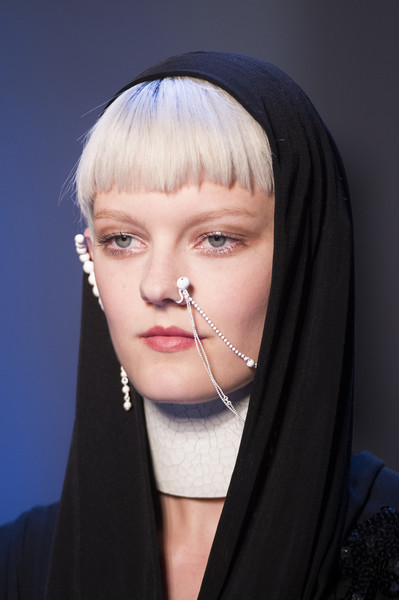 Jean Paul Gaultier at Couture Fall 2017 (Details)