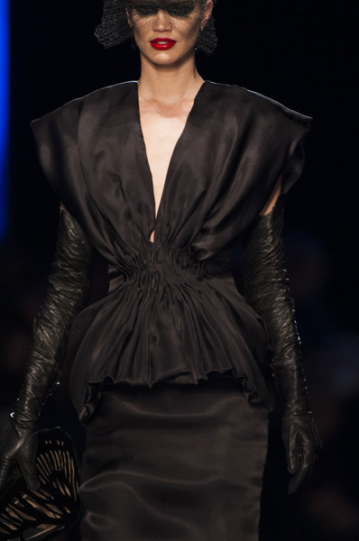 Jean Paul Gaultier at Couture Spring 2014 (Details)