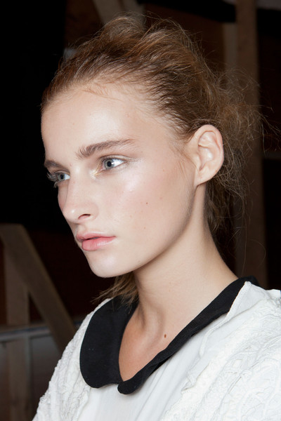 Jen Kao at New York Spring 2013 (Backstage)