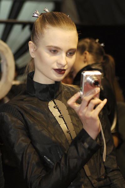 Jens Laugesen at London Fall 2008 (Backstage)