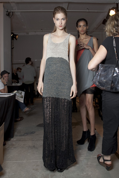 Jeremy Laing at New York Spring 2011 (Backstage)