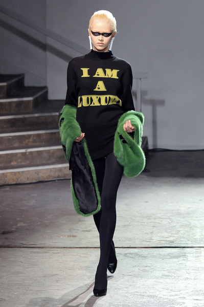 Jeremy Scott at Paris Fall 2008
