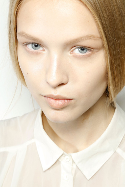 Jil Sander at Milan Spring 2013 (Backstage)