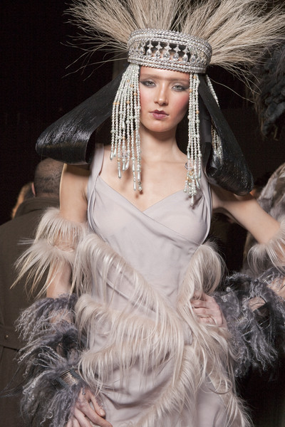John Galliano at Paris Fall 2010 (Backstage)