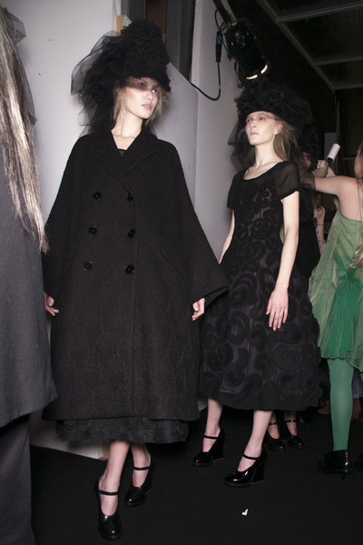John Rocha at London Fall 2013 (Backstage)
