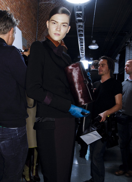 Jonathan Saunders at New York Fall 2008 (Backstage)