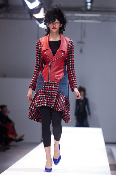 Junya Watanabe's Patchwork Leather Jacket