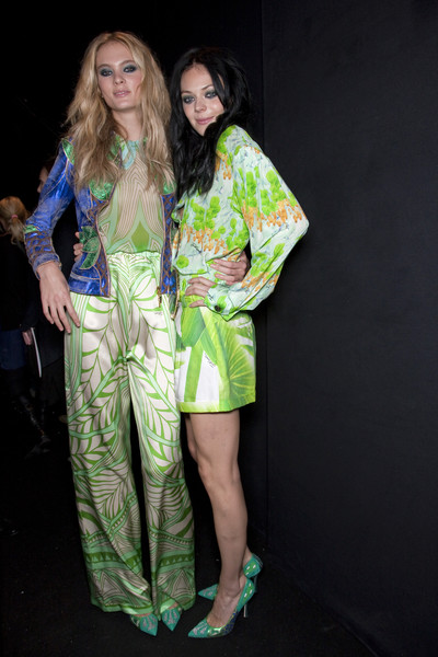 Just Cavalli at Milan Spring 2011 (Backstage)