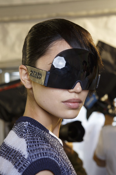Kenzo at Paris Spring 2015 (Backstage)