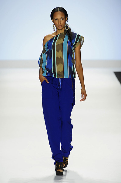 Kimberly Goldson at New York Spring 2012
