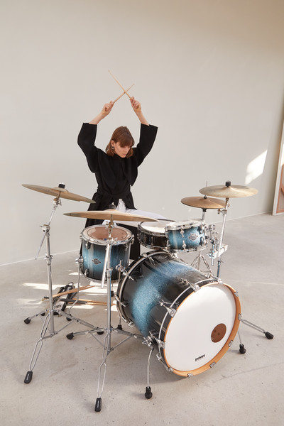 Kimhekim at Paris Fall 2021 [membranophone,idiophone,drum,musical instrument,cymbal,drumhead,musical instrument accessory,electronic instrument,percussion,musician,instrument,tom-tom drum,drum,percussion,bass drum,snare drum,hand drum,hi-hat,timbales,paris fashion week,drum,percussion,hi-hat,timbales,snare drum,bass drum,tom-tom drum,hand drum,drum head]