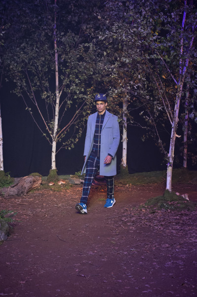 Kith Park at New York Spring 2019 [blue,tree,night,standing,purple,branch,photography,woody plant,darkness,electric blue,kith,fashion,fashion week,runway,standing,purple,kith park,branch,new york fashion week,fashion show,fashion show,kith,new york fashion week,fashion week,fashion,bryant park,ready-to-wear,runway,collecting]