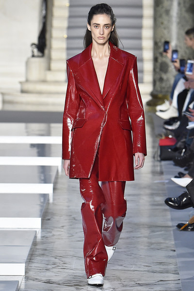 Kristina Fidelskaya at Paris Fall 2019