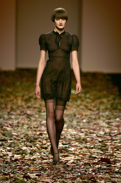 Kristina Ti at Milan Fall 2008