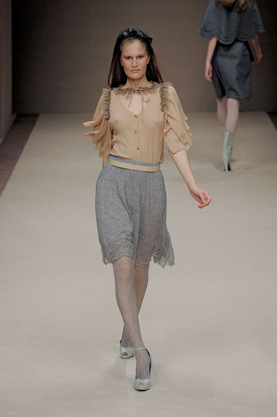 Kristina Ti at Milan Fall 2011
