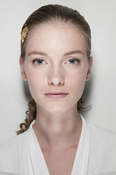 Krizia at Milan Spring 2012 (Backstage)