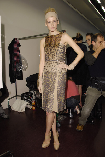 La Perla at Milan Fall 2008 (Backstage)