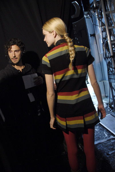 Lacoste at New York Fall 2008 (Backstage)