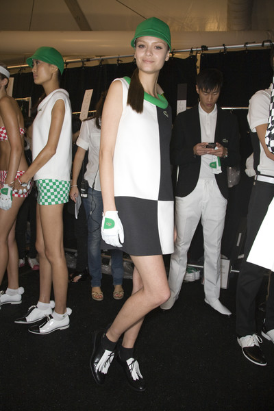 Lacoste at New York Spring 2009 (Backstage)