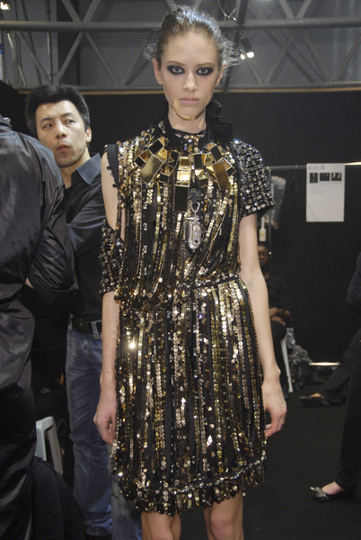 Lanvin at Paris Fall 2008 (Backstage)