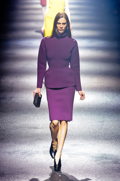 Lanvin at Paris Fall 2012