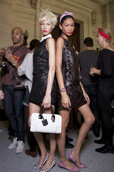 Loewe at Paris Spring 2011 (Backstage)