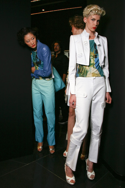 Lorenzo Riva at Milan Spring 2010 (Backstage)