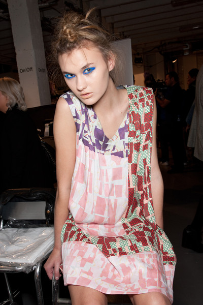 Louise Gray at London Spring 2011 (Backstage)