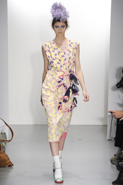 Louise Gray at London Spring 2011