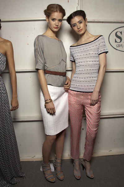 Luca Luca at New York Spring 2011 (Backstage)