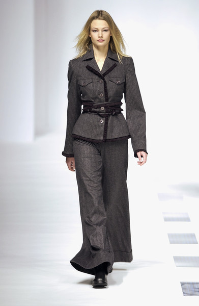 Luciano Soprani at Milan Fall 2002