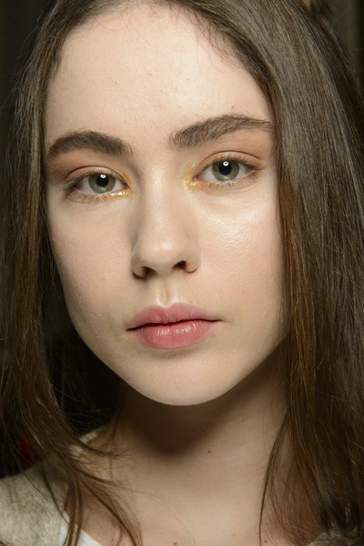 Luisa Beccaria at Milan Fall 2017 (Backstage)
