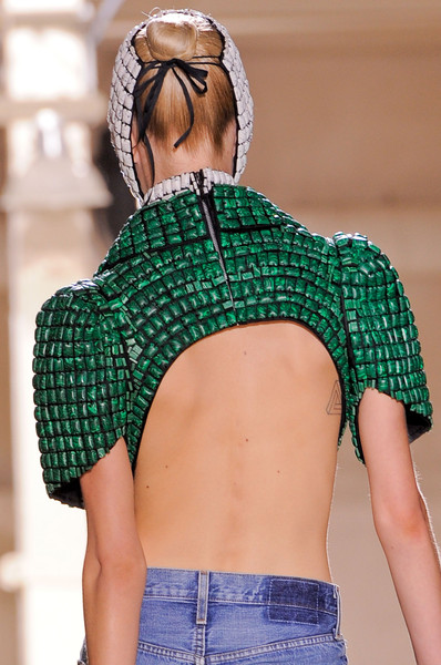 Maison Martin Margiela at Couture Fall 2013 (Details)
