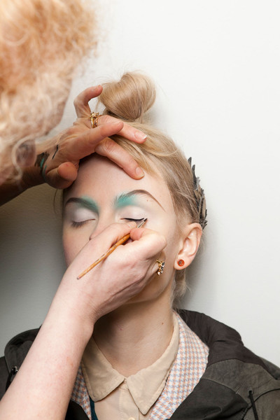 Manish Arora at Paris Fall 2012 (Backstage)