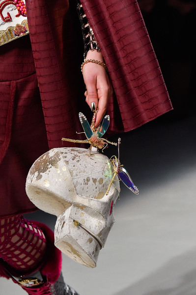 Manish Arora at Paris Fall 2015 (Details) [red,hand,tradition,finger,nail,haute couture,shoe,fashion accessory,shoe,manish arora,fashion,clothing,wallet,backpack,tradition,finger,paris fashion week,fashion,handbag,clothing,wallet,paris fashion week,autumn,backpack,fashion accessory,shoe,costume]