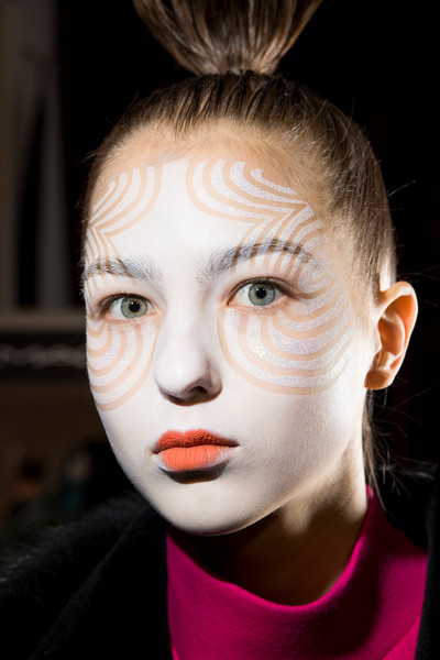Manish Arora at Paris Fall 2018 (Backstage)