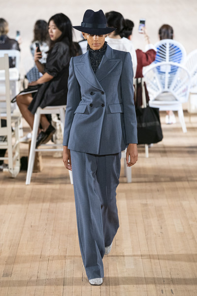 Marc Jacobs at New York Spring 2020 [clothing,suit,fashion,street fashion,pantsuit,formal wear,blazer,outerwear,human,photography,outerwear,marc jacobs,human,fashion,fashion week,spring,street fashion,runway,wear,new york fashion week,marc jacobs,new york fashion week,fashion,spring,fashion week,runway,summer,ready-to-wear,fashion show,vogue]