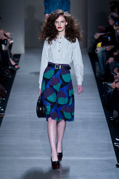 Marc by Marc Jacobs at New York Fall 2013 [fashion model,fashion show,fashion,runway,clothing,shoulder,waist,fashion design,joint,long hair,marc by marc jacobs,fashion,runway,fashion week,clothing,shoulder,waist,new york fashion week,fashion show,milan fashion week,milan fashion week,fashion show,new york fashion week,runway,fashion,fashion week,ready-to-wear,handbag,haute couture,model]