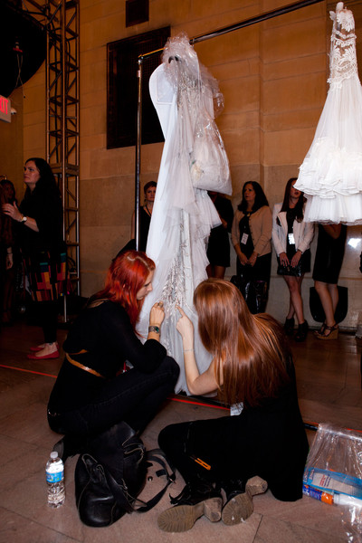 Marchesa at New York Spring 2013 (Backstage)