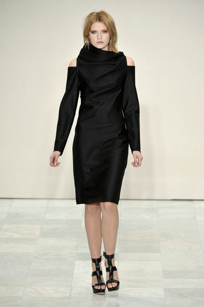 Maria Grachvogel at London Fall 2010
