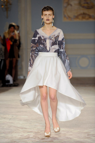 Maria Grachvogel at London Fall 2011