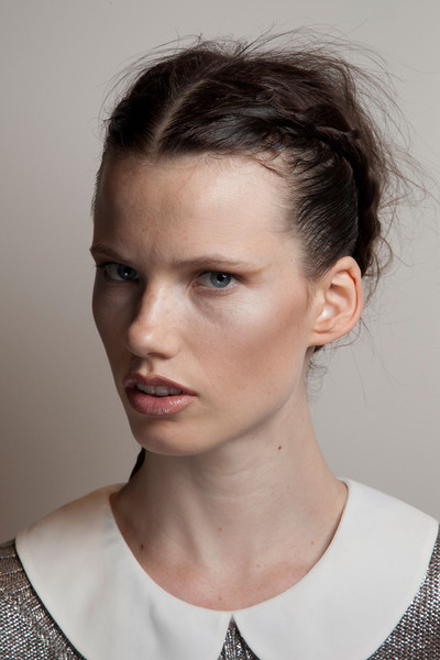 Maria Grachvogel at London Spring 2013 (Backstage)