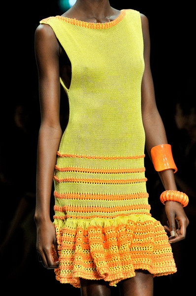 Mark Fast at London Spring 2012 (Details)