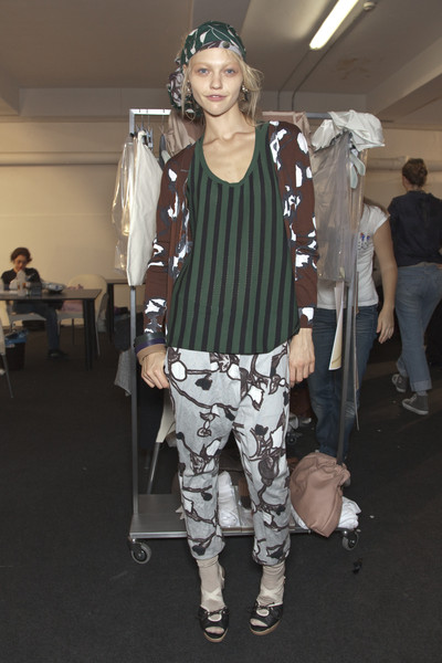 Marni at Milan Spring 2010 (Backstage)