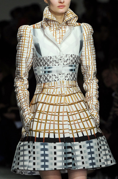 Mary Katrantzou at London Fall 2012 (Details)