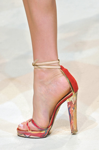 Mary Katrantzou at London Spring 2010 (Details)